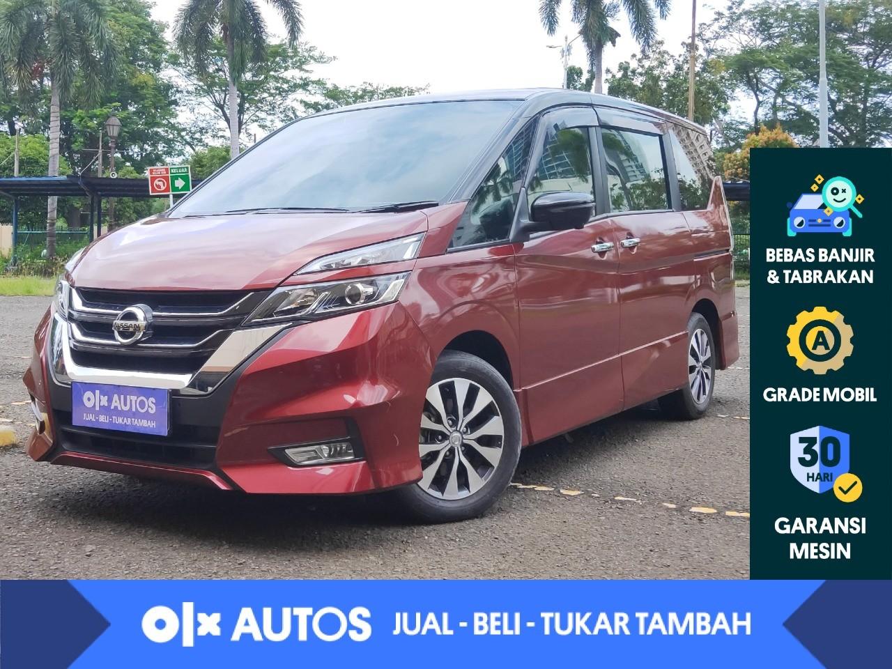 [OLXAutos] Nissan Serena 2.0 Highway Star bensin A/T 2019 Merah