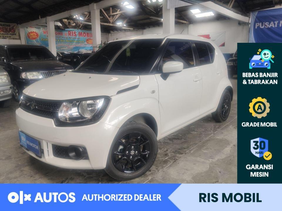 [OLX Autos] Suzuki Ignis 2019 GL 1.2 Bensin M/T Putih #RIS Mobil