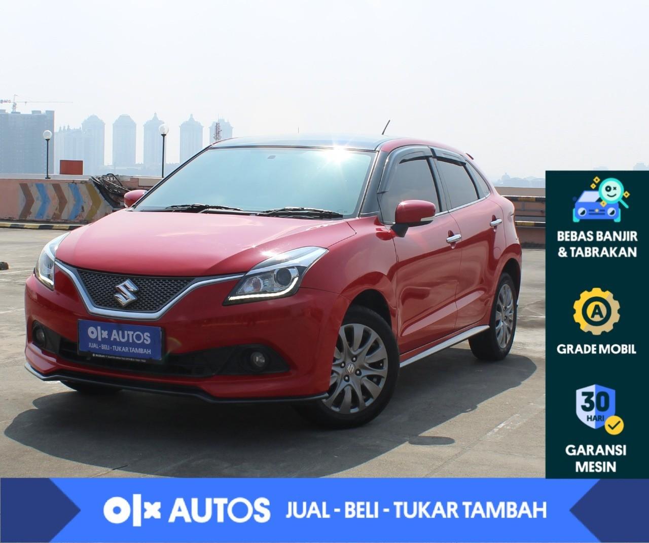 [ OLXAutos]  Suzuki Baleno 1.4 GL Bensin A/T  2018 Merah