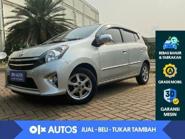 [OLXAutos] Toyota Agya 1.0 G A/T 2016 Silver