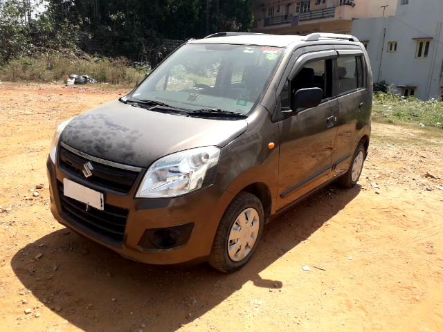 Maruti Suzuki Wagon R LXI BS IV, 2014, Petrol