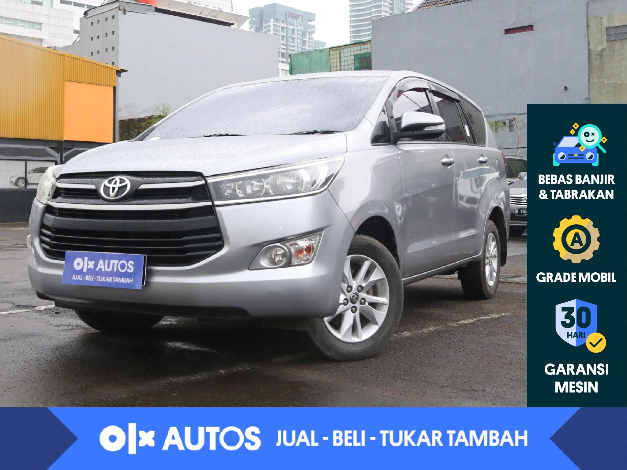 [OLXAutos] Toyota Kijang Innova 2.4 G Solar M/T 2016 Silver